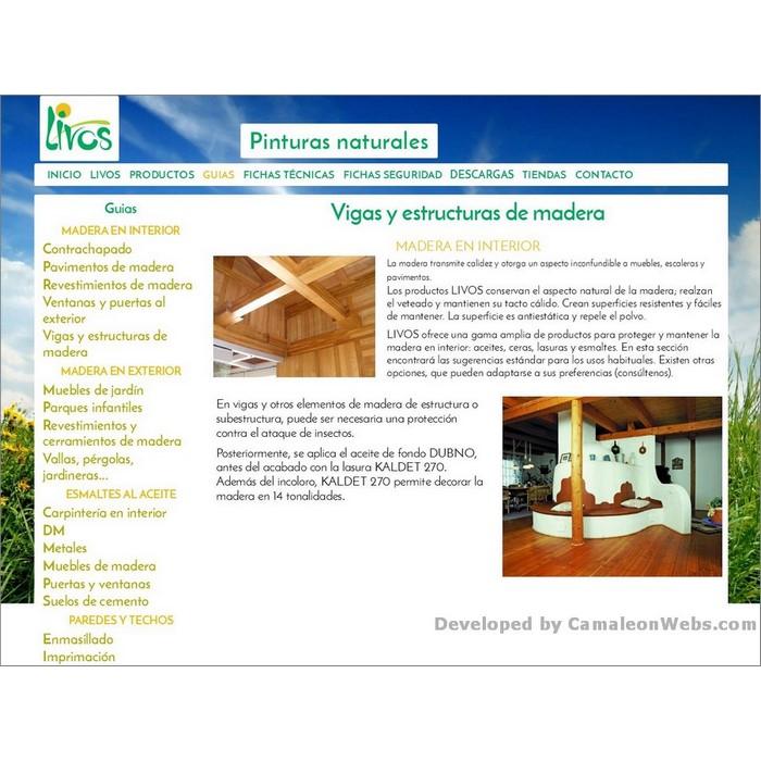 Pàgina guias: livos-es - projecte web de Camaleon Webs