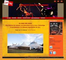 Pàgina inici: circcric-cat - projecte web de Camaleon Webs