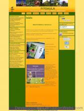 Pàgina inicio: fitoaula-com - projecte web de Camaleon Webs
